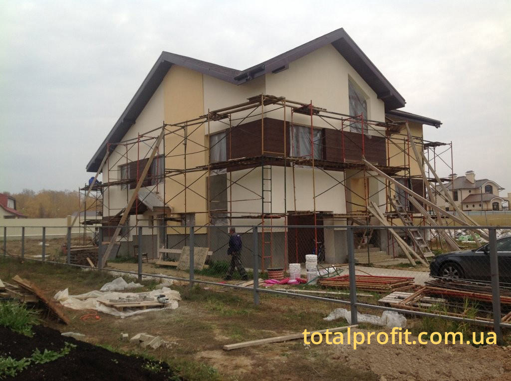 Утепление частного дома Ceresit Vissage