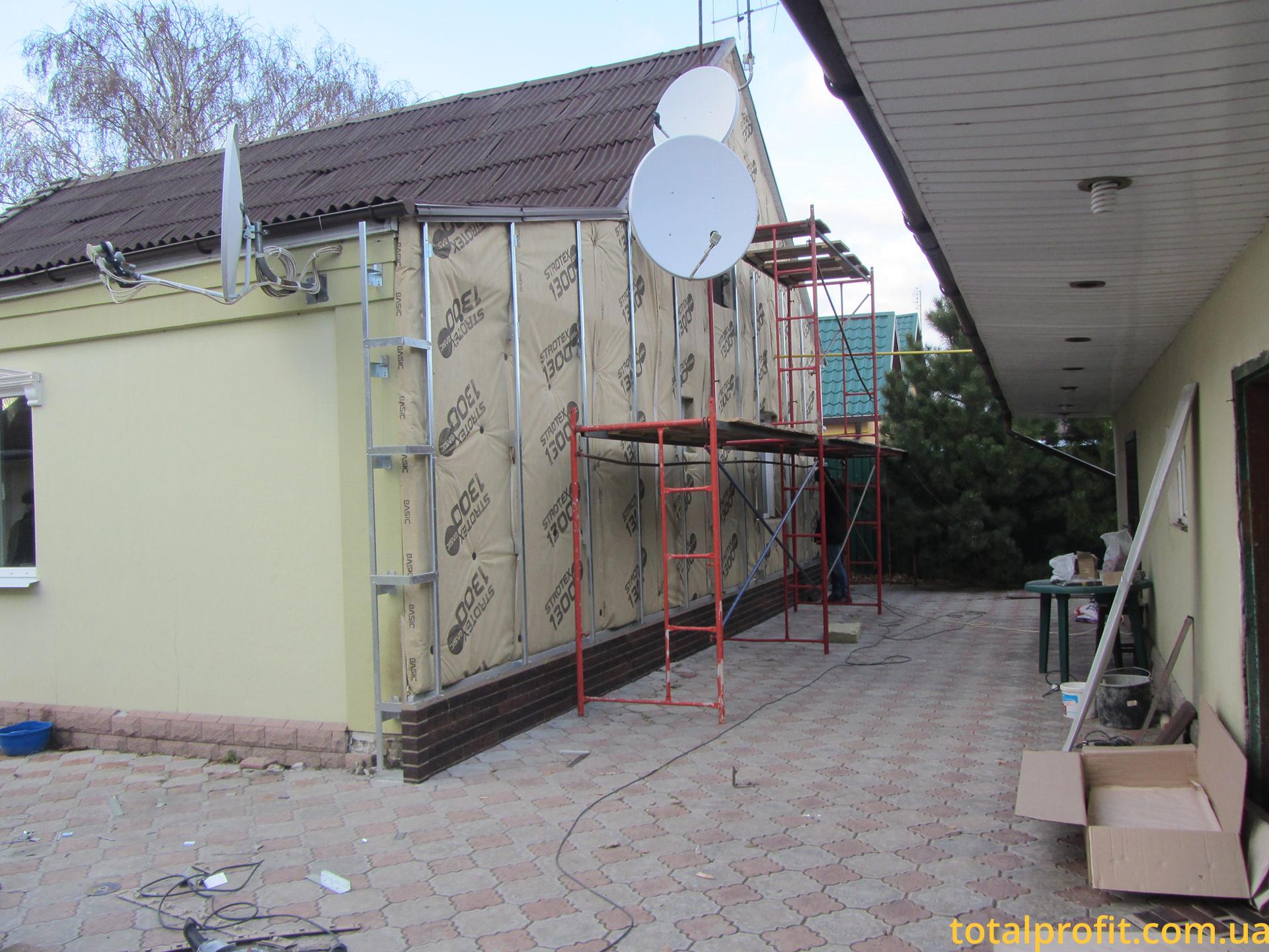 Утепление дома металлический сайдинг