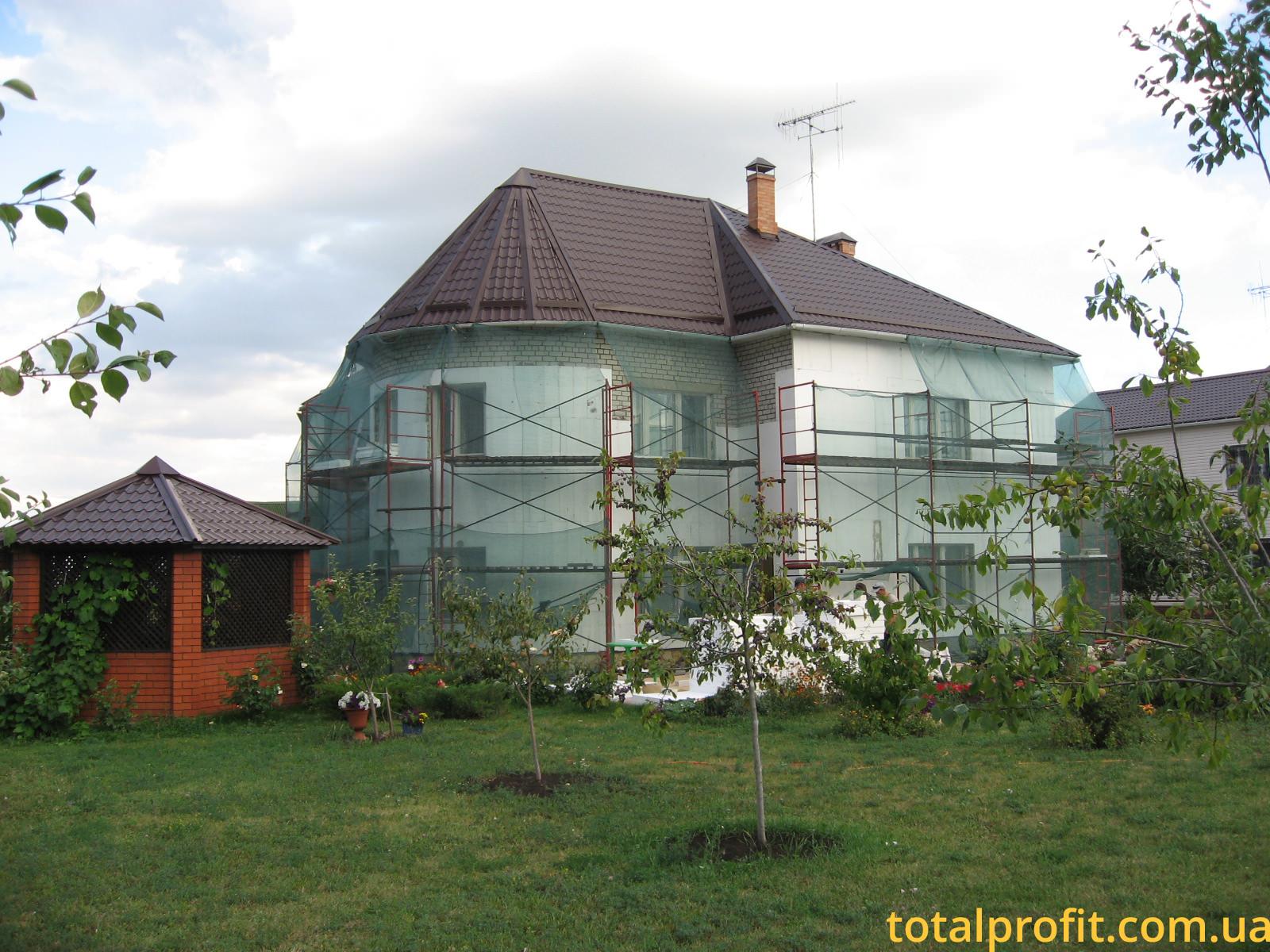 Утепление загороднего дома