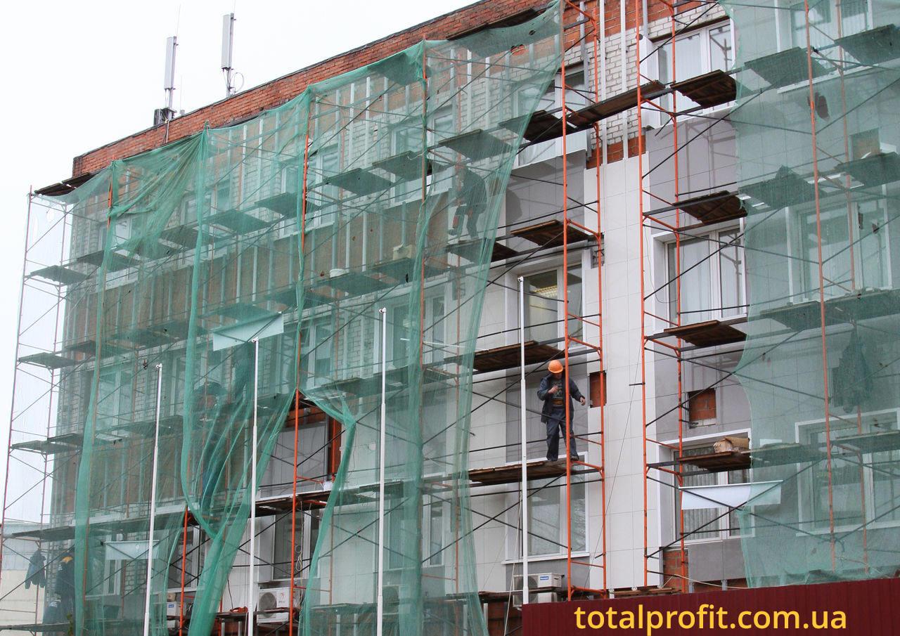 Реконструкция фасада админздания
